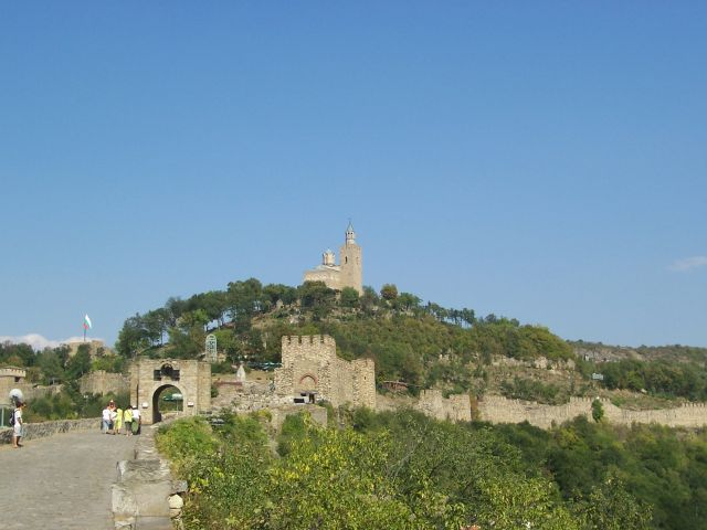 The Tsarevets Fortress in Veliko Tarnovo