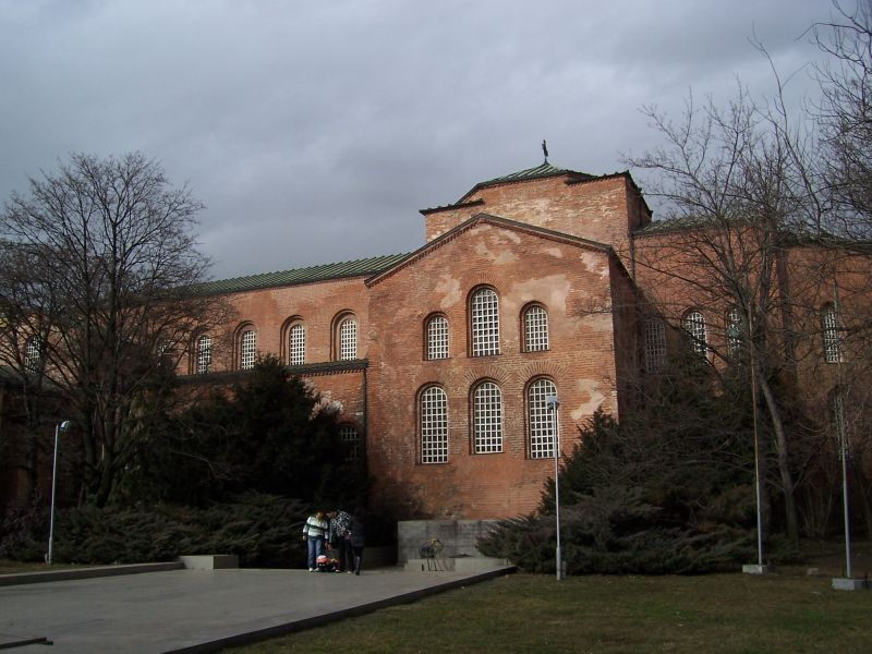 The Church of St Sophia