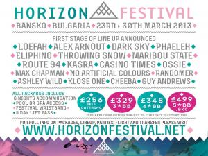 Horizon Festival ще разтърси Банско