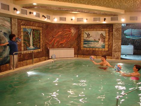 Басейн в хотел Калифорния